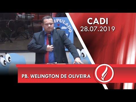 Pb. Welington de Oliveira   Você decide!   Lucas 19.5-6   28 07 2019