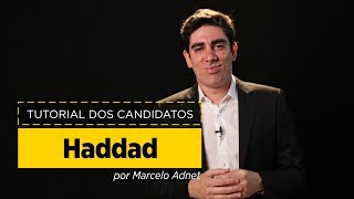 Marcelo Adnet imita Fernando Haddad