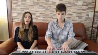 Abrázame acústico - Rombai (Cover) ft Lucía Balás