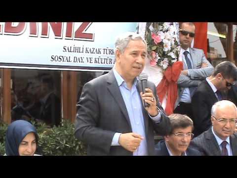 Salihli'de Davutoğlu ve Arınç'a Şekerli Karşılama - Sektör Gazetesi