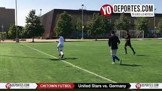 United Stars vs. Germany Chitown Futbol Final Benito Juarez Academy