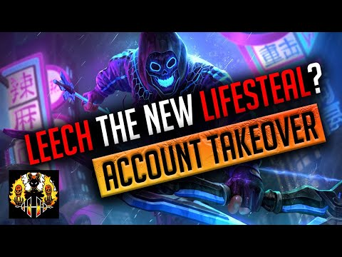 RAID: Shadow Legends | Leech - new lifesteal? Speed Team Vs UNM CB, no lifesteal gear! ACC TAKEOVER!