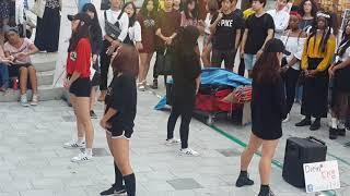 [댄스팀 디엠 DIEM] BLACKPINK 퍼포먼스 ☆BITCH BETTER HAVE MY MONEY☆ 커버안무 홍대버스킹 20170821월 [HONGDAE KPOP DANCE]