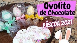 OVOLITO DE CHOCOLATE (OVO DE PÁSCOA NO PALITO) – ESPECIAL DE PÁSCOA 2021