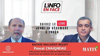 L'info en Face avec Pascal Chaigneau