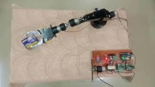 Pick & Pop 3D Arm Robot using Aurdino UNO