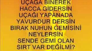 """AŞIK MAHZUNİ ŞERİF """"NAMAZ KILSAN KILMAYANA DOKUNMA"""""""