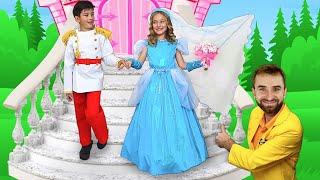 Sasha as a Princess Bride at a Dream Wedding