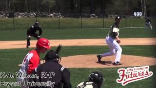 Kyle Wilcox Prospect Video, RHP, Bryant University 2