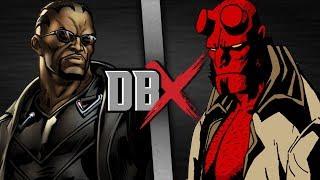 Blade vs Hellboy   DBX