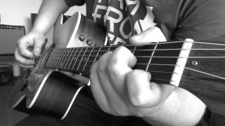 Deep Purple - Soldier of Fortune (guitar cover) HD
