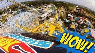 Hot Wheels SideWinder POV - Dreamworld Gold Coast