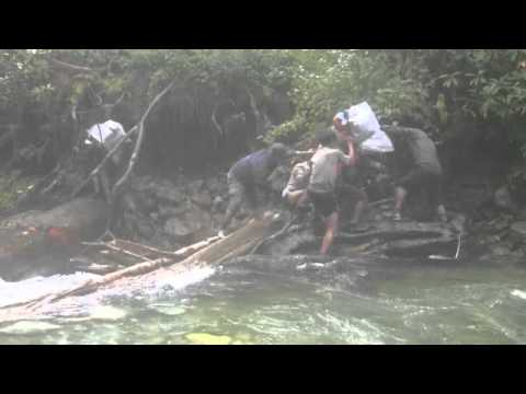 Nepal Tricky river crossings.m4v