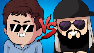 Celso Portiolli VS. Mussoumano | Batalha de Youtubers Animada