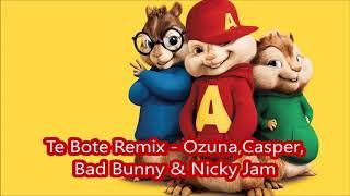 Te Bote Remix Ozuna, Casper, Bad Bunny & Nicky Jam