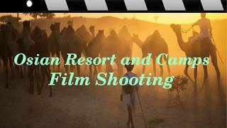 Osian Sand Dunes Film Shooting