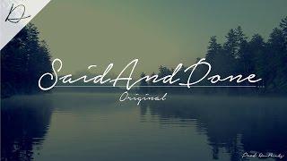 """SaidAndDone"" - Sad / Emotional / Piano / Rnb / HipHop / Beat Instrumental ( Prod: DM BEATS)"