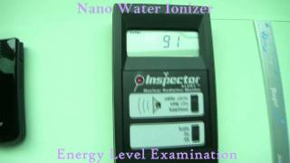 Can you see the Invisible Energy ?? The SMALLEST water ionizer !