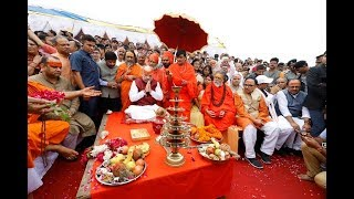 Allahabad : संग्राम से पहले Amit Shah की 'सियासी' साधना।