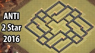 TH9 War Base Town Hall 9 Trophy Base Anti 2 Star Clash of Clans