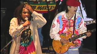Ziggy Marley and Stephen Marley with Carlos Santana - Jammin