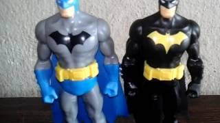 # BATMAN AZUL VS BATMAN PRETO