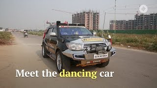 Dancing SUV: Man spends nearly Rs 7,00,000 to modify his SUV