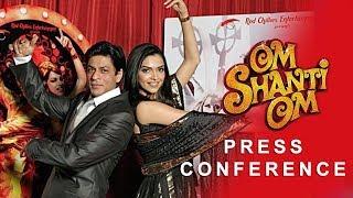 Om Shanti Om | Press Conference | Deepika Padukone, Shah Rukh Khan, Shreyas Talpade & Arjun Rampal width=