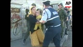 MIDDLE EAST: GAZA STRIP: BOMB EXPLOSION (V)
