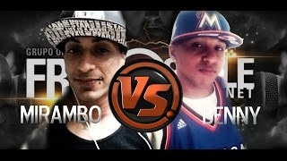 Tiraera en Vivo de Mirambo Vs Benny en Ponce (Freestyle Mania Reunion 2)