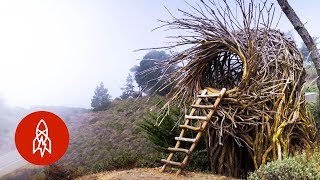 Meet the Man Building Human-Sized Nests