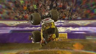 Team Hot Wheels Firestorm - Slow Motion Backflip in Nissan Stadium - Nashville, TN 2016