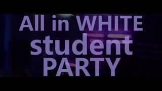All in WHITE student PARTY // TOWER Club UH // 27.9.