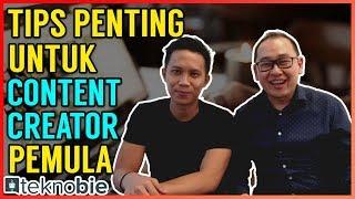 Tips Penting buat Content Creator Pemula