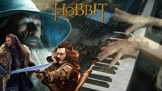 The Hobbit: The Desolation of Smaug - Lands of Shadows - Epic Piano Solo