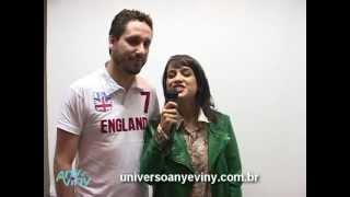 Daniela Araujo e Leonardo Gonçalves Ligado no Programa Any e Viny