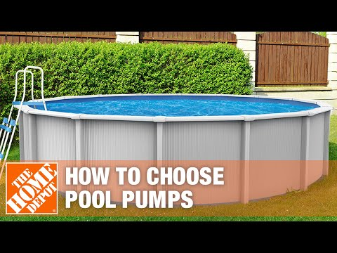 How to select a pool pump.