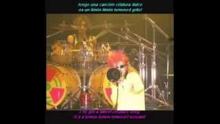 Hide - Lemoned I scream (HD sub. español - inglés) LIVE