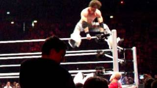 WWE world tour - Milano : Sheamus vs Morrison
