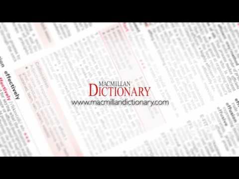 Macmillan English Dictionary Online