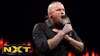 Aleister Black speaks for the first time in NXT: WWE NXT, Sept. 20, 2017