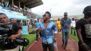 "REEKADO BANKS LIVE PERFORMANCE AT ""A TRIP TO JAMAICA"" NOVELTY FOOTBALL MATCH"