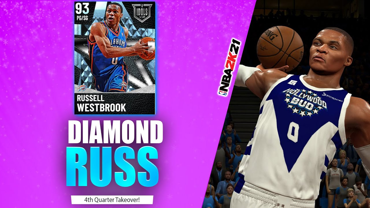 Bud22089 - Diamond Russell Westbrook 4th Quarter Takeover! - NBA 2K21 MyTeam