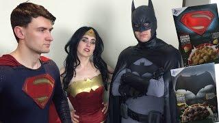Batman V Superman: Eating Cereal