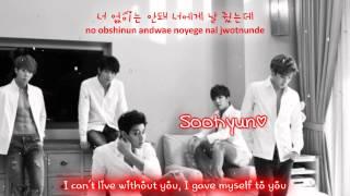 U-Kiss Can't Be Without You [Eng Sub + Romanization + Hangul] HD