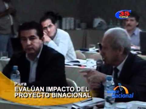 Evalúan en Piura impacto del Proyecto Binacional Catamayo