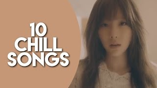 10 Chill Kpop Songs