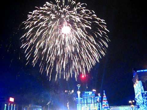 Новый 2012 год! Майдан Незалежности
