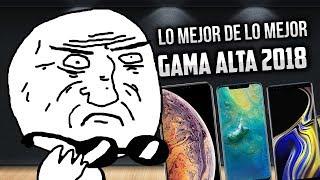 Los MEJORES teléfonos que existen 2018   TOP GAMA ALTA  ✌ MEJORES CELULARES DE GAMA ALTA 2018