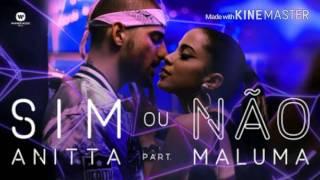 """Letra da Música """"Sim ou Não"""" Anitta Feate Maluma (Legendado)"""